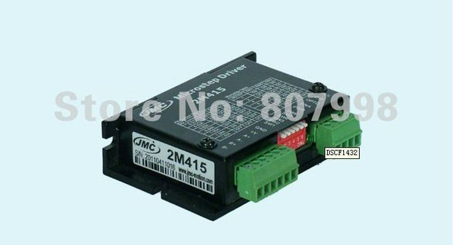 Wholesale price Shipping,NEW 2M415 2-Phase CNC Stepper Motor Driver 1.5A Driver Router Mill , H-Bridge