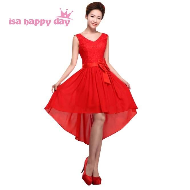 Popular Greek Prom Dresses Buy Cheap Greek Prom Dresses: Aliexpress.com : Buy Red V Neck Lace Up Back Short Front