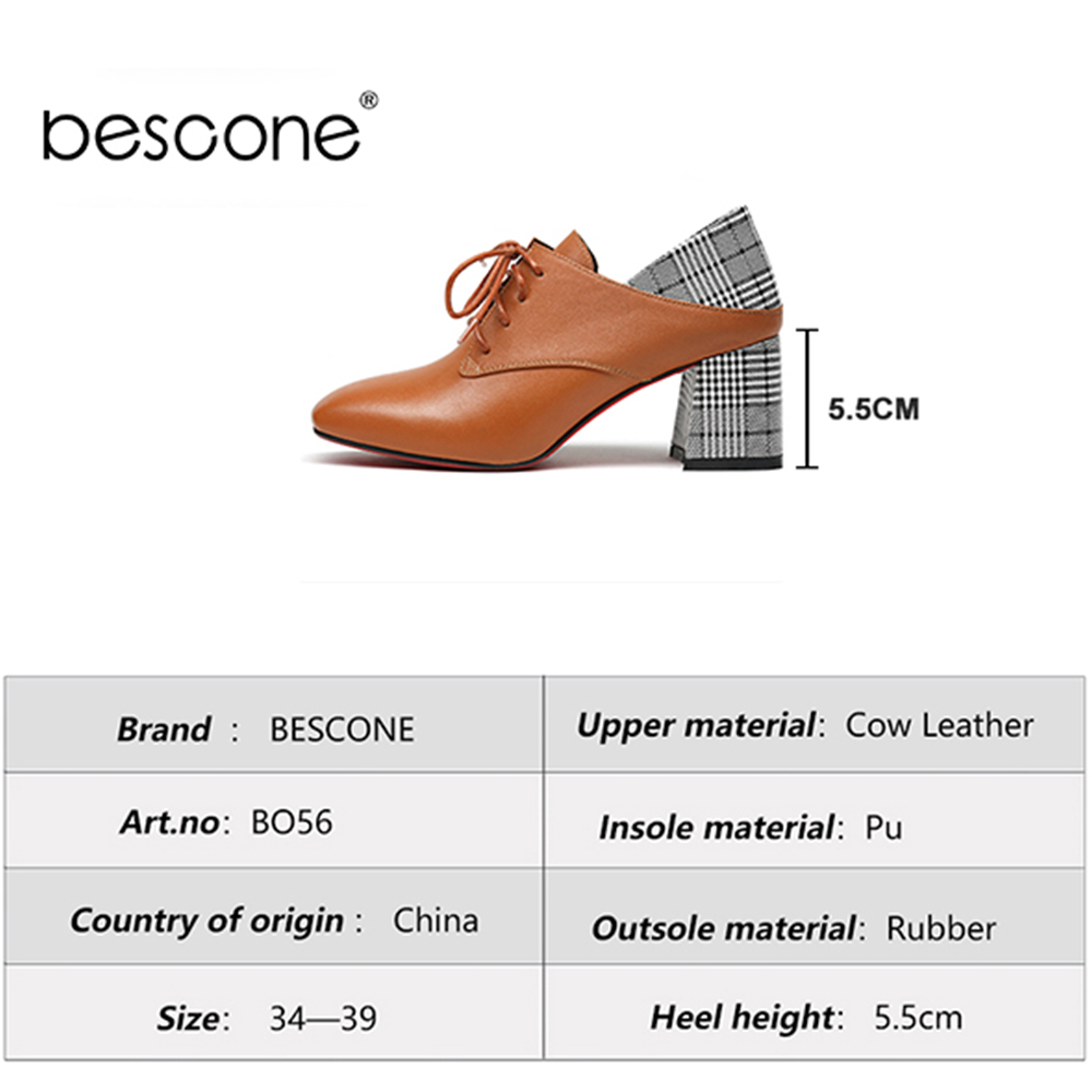 Pumpen 2019 Bo56 Hohe Büro Schuhe Quadratische Caramel Neuheiten Heels Design Frauen Up Elegante Pumps Qualität Lace Bescone black Splice qFEawxSwt