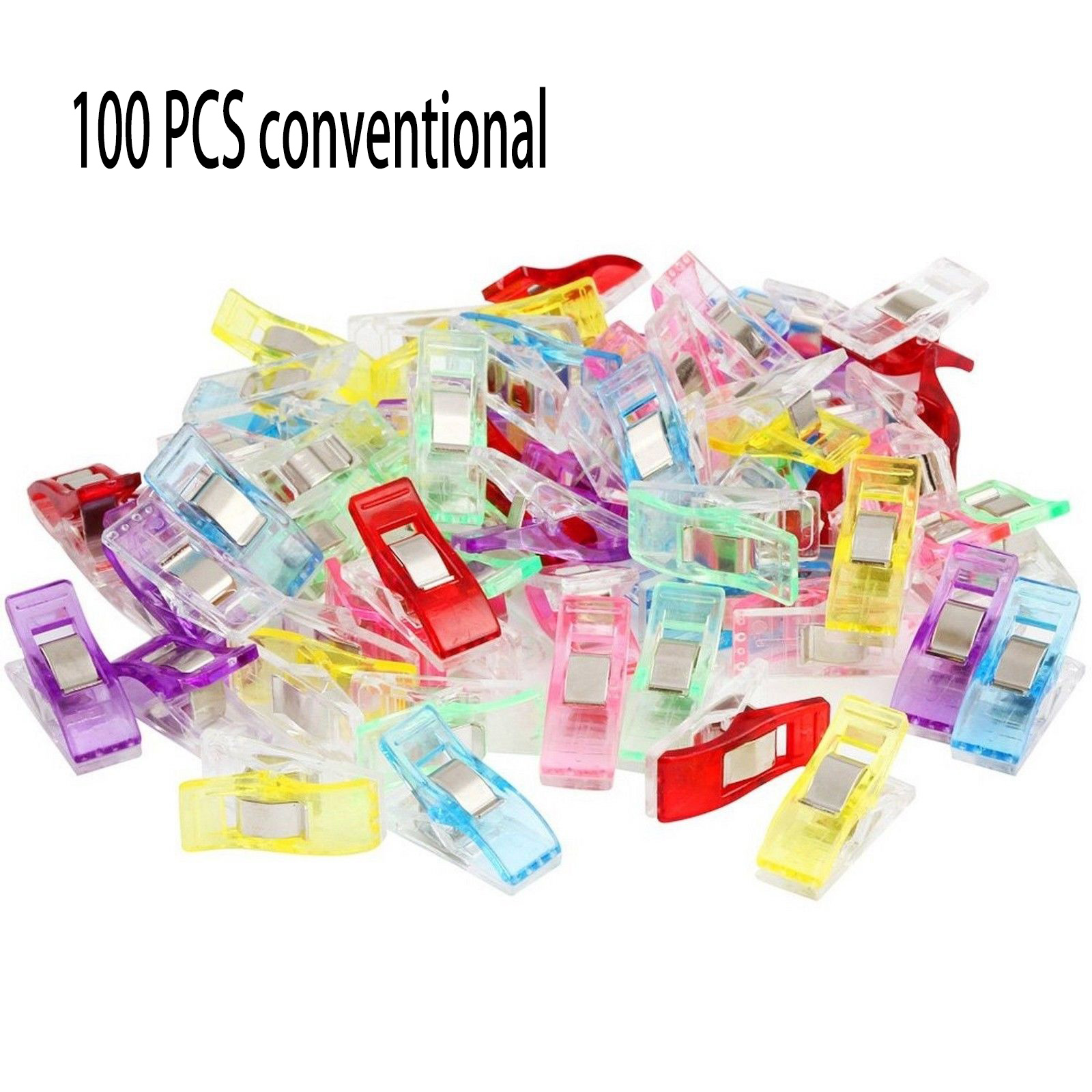Lot 20 Colorful Wonder Clips for Fabric Quilting Craft Sewing Knitting Crochet