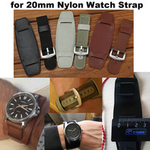 Nylon Bracelet 20mm Watch Band for Xiaomi Amazfit Bip Lite Correa for Samsung Gear Classic S2 Sport S4 for Huawei Watch 2 Strap
