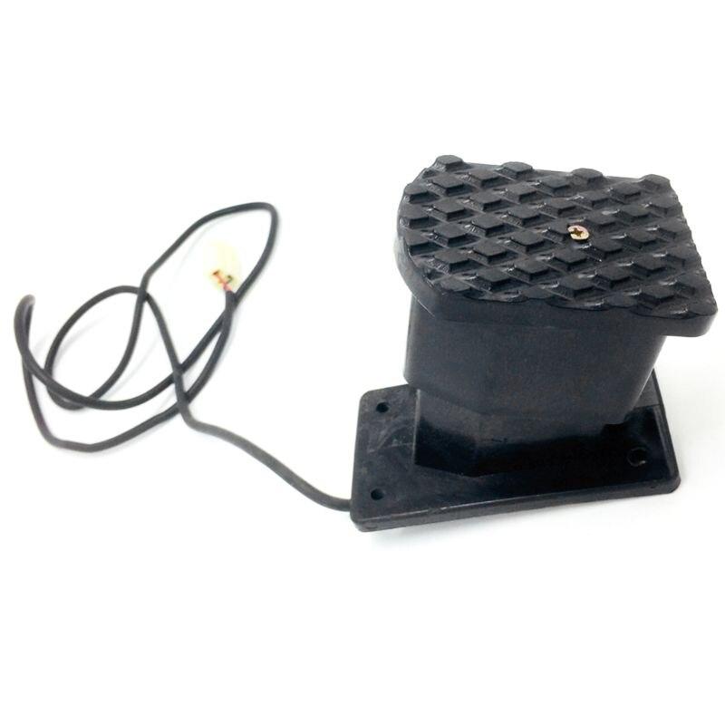1 Pc Schwarz Kunststoff Atv Gaspedal Accelerator Gas Geschwindigkeit Control Pedal Fit Für Elektrische Fahrrad Roller Qiang Attraktive Mode