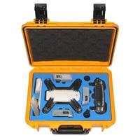 W Magazynie Wodoodporna Bezpieczeństwa Hardshell Ręki Torby Pudełko Walizka Plecak Case dla DJI Spark RC Drone RC Quadcopter Drone