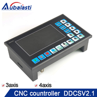 The new DDCSV2.1 CNC system U disk read support G code engraving machine controller motion3 axis 4 axis system.