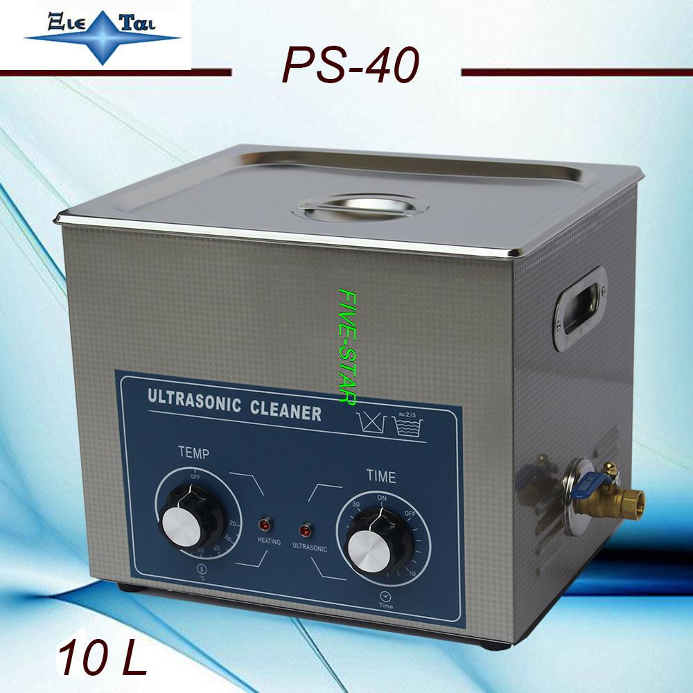 for Southeast asia and best price Free shipping ultrasonic cleaner 10L 240w PS 40 AC110 220v