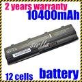 Jigu de alta capacidad de 12 células para hp pavilion dv6 dv5 dv4 g6 cq40 cq50 cq60 g50 g60 g70 para compaq cq42 g62 portátil baterías