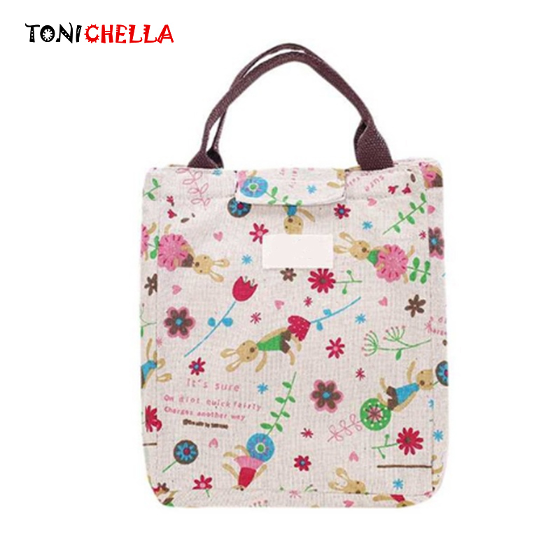 Baby Food Insulation Breast Milk Bottle Thermal Bag Cute Rabbit Mummy Picnic Feeding Milk Kettle Keep Warm Portable Tote BB5046