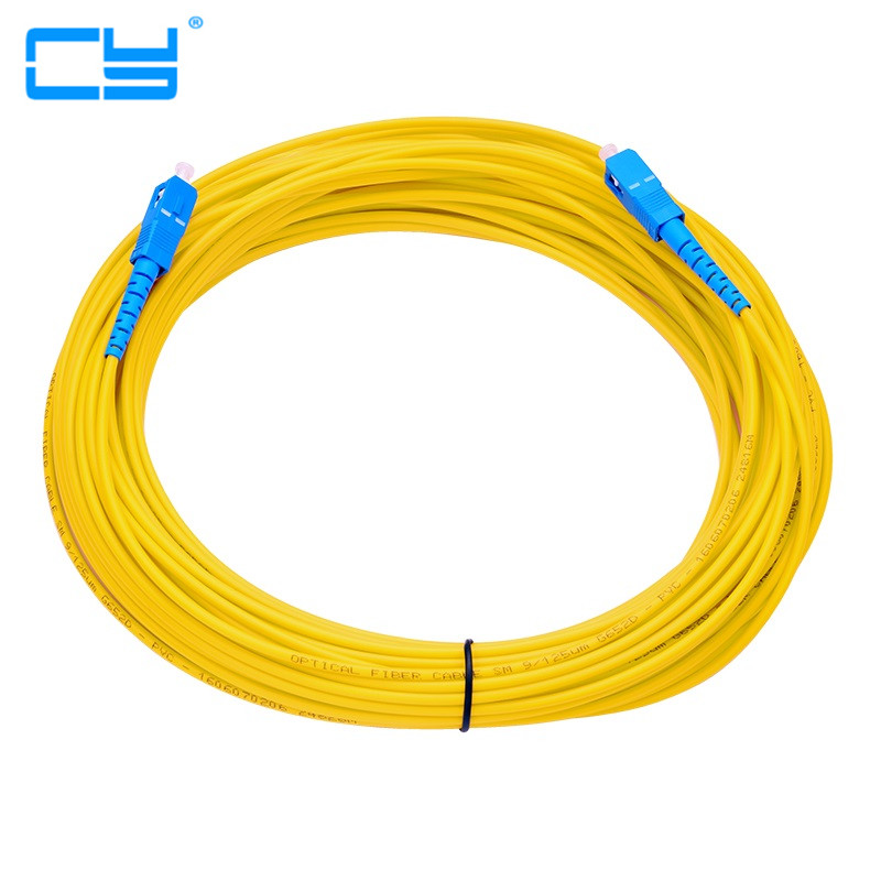 5pcies/lot Optical Fiber Jumper SC-SC SM SX 3mm 30M 9/125um 30Meters SC/PC Fiber Optic Patch Cord in Stock 3m 5m 10m 15m 20m 30m yamaha sc reface