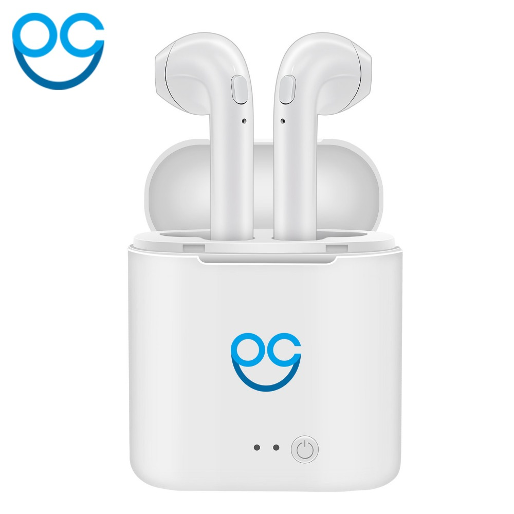 OGV Bluetooth Earphone HIFI Wireless Earpiece Cordless Headphone Stereo Sport Earbuds bass Headset For Air Pods phone Samsung mini wireless bluetooth earphone stereo sport bluetooth headphone headset earpiece for iphone apple air pods for earphone xiaomi