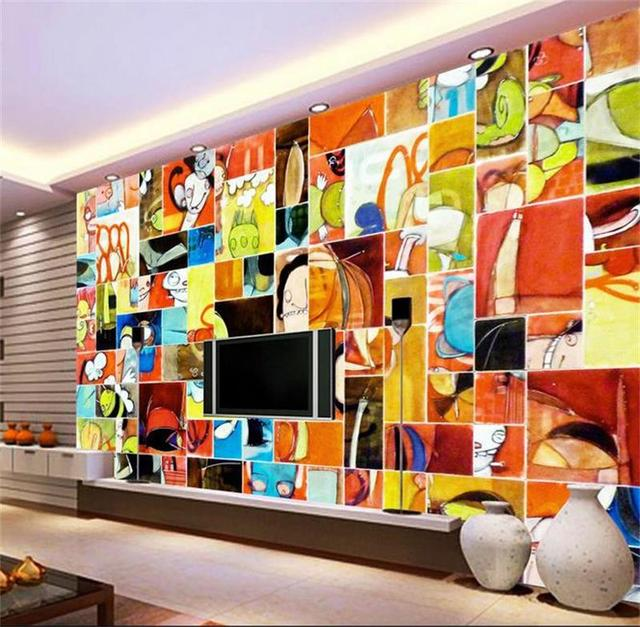 3d Wallpaper Custom Photo Hd Mural Children 39 S Cartoon