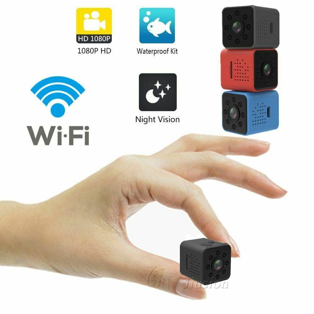 1080P HD spy Mini secret Plug Charger Hidden camera cycle DVR Video recorder+8G