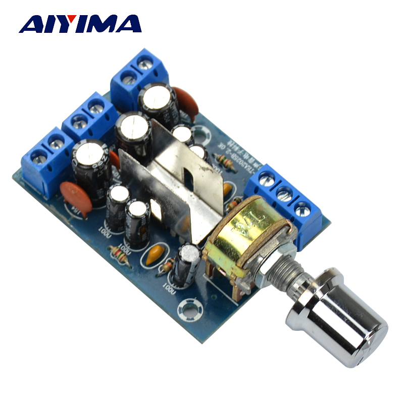 AIYIMA TEA2025B Power Amplifier Audio Board 2.0 Channrl Mini Amplifier Stereo AMP 3Wx2 Home Sound Theatre