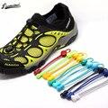 Esportes Fitness Fechamento lace 23 cores um par De Tênis Cadarços Shoestrings Travando Sapato Laces Elastic Correr/Jogging/Triathlon