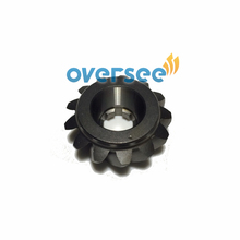 OVERSEE Pinion 697 45551 00 00 For Yamaha 2 STROKE 48HP 50HP Outboard Engine