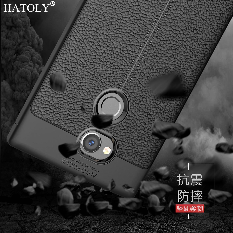 "Hatoly для чехол для телефона Sony Xperia XA2 Ультра случай 6 ""Броня Защитная Резина ТПУ мягкий чехол для Sony Xperia XA2 ультра крышка Fundas"