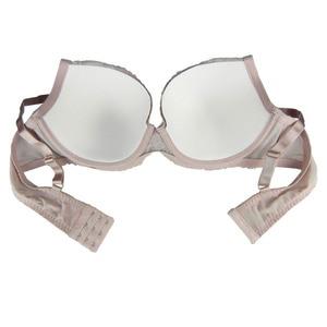 Image 5 - Mierside 1641 Beige/Purple Plus size Lace Big Bra Solid Sexy Bralette 3/4 Cup Underwear Women Everyday 38 46C/D/DD/DDD/E/F
