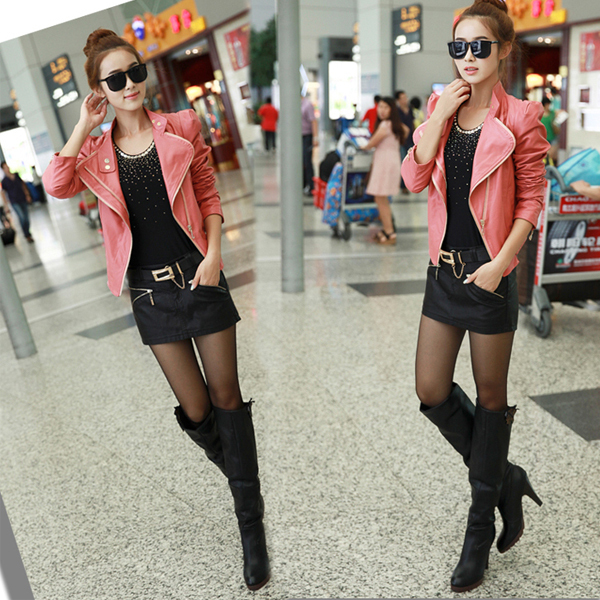 New Fashion 2014 Women Sexy Leather Skirt Boots Pants Short ...