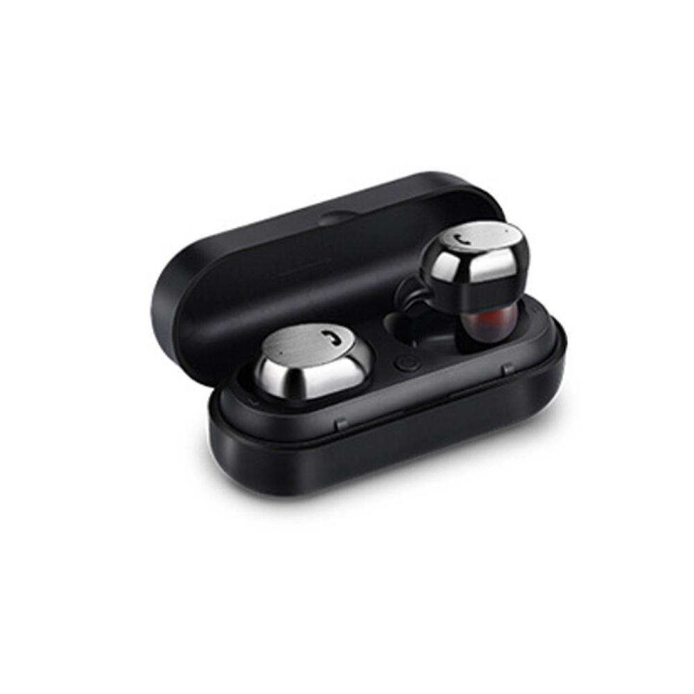 M9 TWS Bluetooth Earphone With Charging Box Wireless Earphones Sports Stereo Headphone Dual Earbuds Earphones Black White m9 tws bluetooth earphone wireless sports 4 1 in ear stereo dual earbuds earpphones