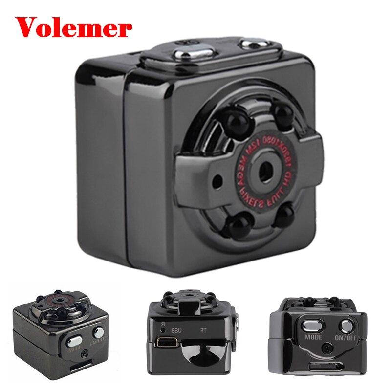 Volemer SQ8 Kleine Kamera Mini Cam Full HD 1080 p Infrarot Nacht Version auto DVRs Stimme Video recorder Suppot TF karte PK SQ11 SQ9