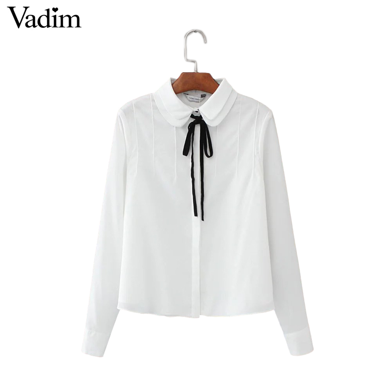 Cheap women casual blouses, Buy Quality casual blouse directly from China blouse lolita Suppliers: Japan Mori Girls Cute Peter Pan Collar Shirt Mori Girl Long-sleeve Cotton Shirt Women Casual Blouse Lolita Cawaii Tricot Tops Enjoy Free Shipping Worldwide! Limited Time Sale Easy Return/5(4).