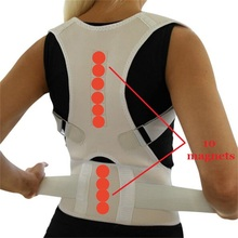 Magnetic Therapy Back Support Posture Correction Spine Support Belt Adult Back Corset Shoulder Lumbar Posture Corrector Bandage women back brace support posture corrector corset lumbar support belt upper back posture correction magnetic therapy pain relief