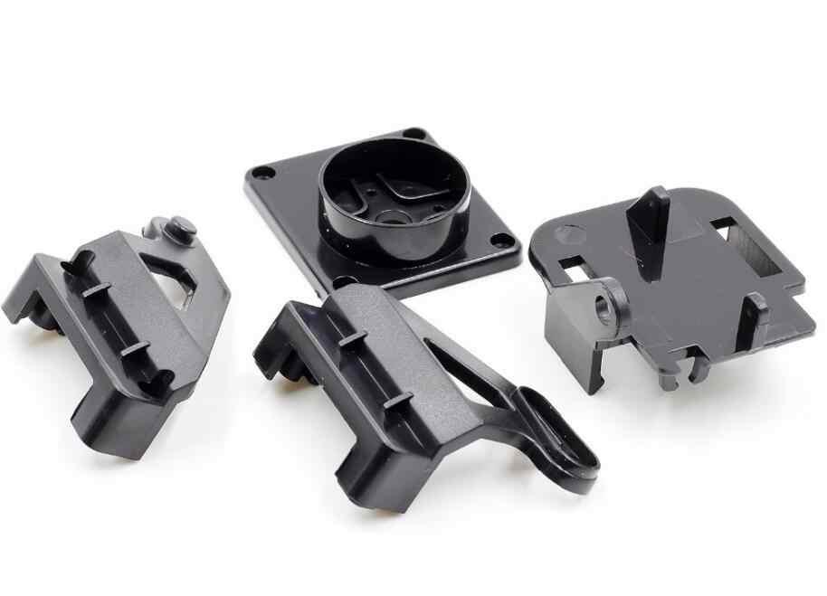 مضاعفات قوس PT عموم/الميل كاميرا منصة مضادة للاهتزاز منصب الكاميرا ل FPV النايلون مخصصة PTZ ل 9G SG90 MG90S موصل