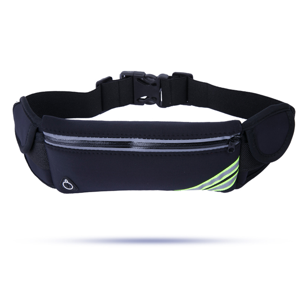 Outdoor Sport Running Waist Bag Women Hiking Bum Belt Fanny Pack Water Bottle Pocket Music With Headset Hole For Mobile Phone