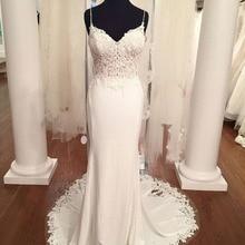 BRITNRY Mermaid Wedding Dresses Boho Wedding Dress Backless