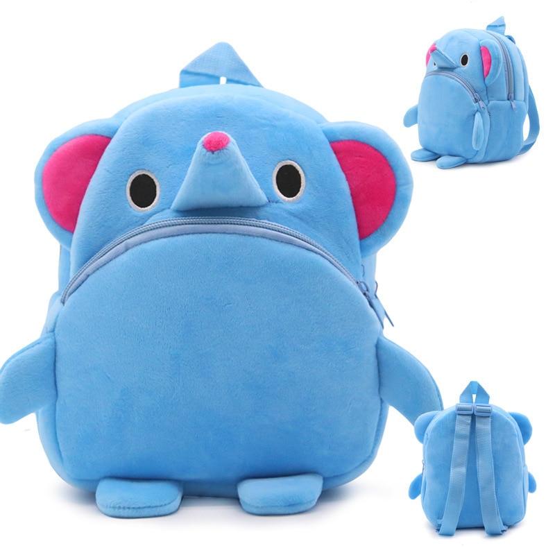 Kid-Baby-Lovely-Animal-Shape-Plush-Schoolbag-Cute-Children-Backpack-Stuffed-Small-Schoolbag-Plush-Kindergarten-Bag-1