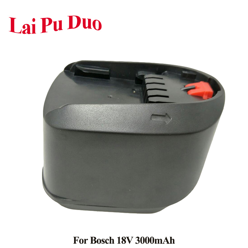 For <font><b>Bosch</b></font> 18V 3000mAh Li-Ion Replacement Power Tool <font><b>Battery</b></font> For <font><b>Bosch</b></font> 3.0Ah <font><b>PSR</b></font> <font><b>18</b></font> LI-2 2 607 336 039 2 607 336 208 Power 4All image