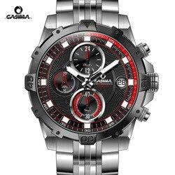 CASIMA Brand Men Watch reloj hombre Luminous Sport Multi-Function Quartz Watch Men montre homme Waterproof 100m erkek kol saati