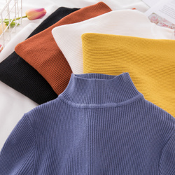 New Turtleneck Knitted Sweater Female Casual Pullover Women Autumn Winter Tops Korean Sweaters Fashion 2018 Women Sweater Jumper 2