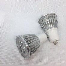 10pcs Cree Gu10 E14 Mr16 Gu5.3 Led Lamp 220v 110v 5w Led Spotlight Bulb Lamp Warm Cool White Ceiling Spot Light Free Shipping цена