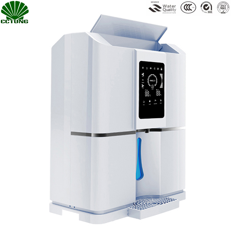 Home 20L/D Pure Atmospheric Air To Water Treatment Dispenser Generator With Intelligent RO Filter  NFC Code-Scanning Match Tech