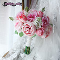 Pink wedding bouquets bridal bouquet bruidsboeket bouquet fleur mariage ramo de novia artificial bouquet