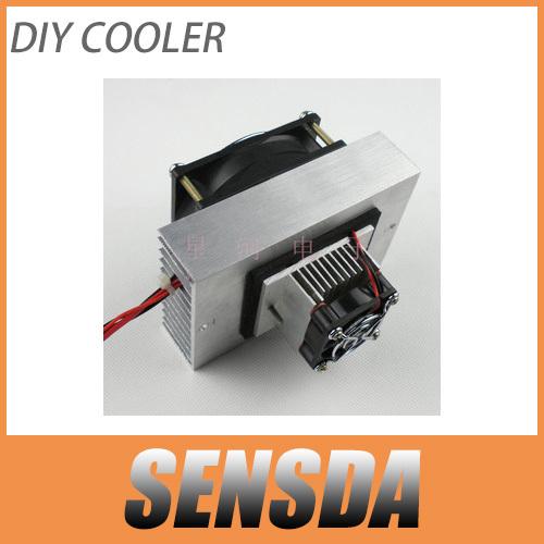Prix pour SXDOOL Peltier Promotions dans les semi-conducteurs de réfrigération électronique petit air-condition DIY mini climatiseur
