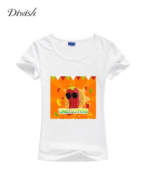 Diwish Tshirts Cotton Women 2019 Summer Women Short Sleeve Basic Tshirt Plain Casual Graphic Tees Women Funny Cute Tee Shirt