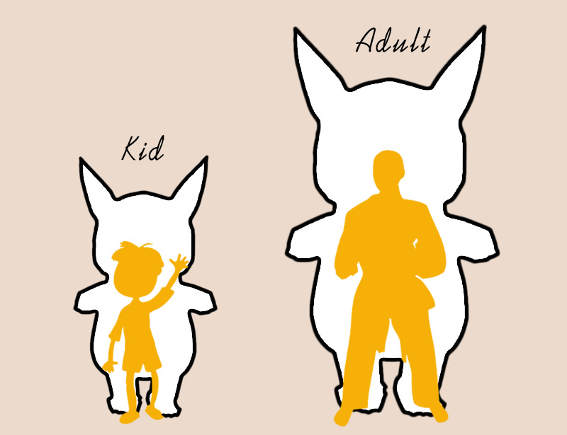Inflatable Pikachu Costume -3