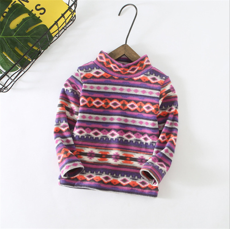 Boys Sweater Baby-Girls T-Shirt Tops Long-Sleeve Christmas Winter Kids Children Warm