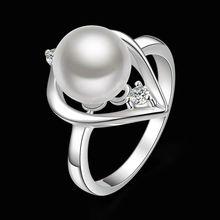 Estilo fino verano platea los anillos plateados joyería artificial anillos de boda para las mujeres SR387 925-sterling-silver
