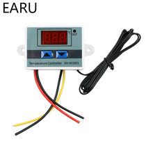 XH-W3001 10A 12V 24V 110V 220V LED Digital Thermostat Temperature Controller Thermoregulator Thermometer Temp Control Regulator(China)