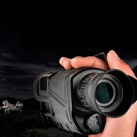 Монокуляр ночного видения Инфракрасный цифровой прицел для охотничьего телескопа большой диапазон со встроенной камерой съемки фото запи