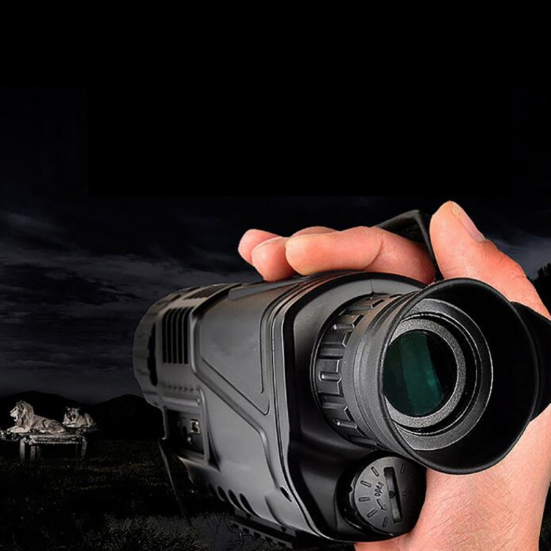 Monocular Night Vision Infrared Digital Scope For Hunting Telescope Long Range With built-in Camera Shoot Photo Recording Video цена