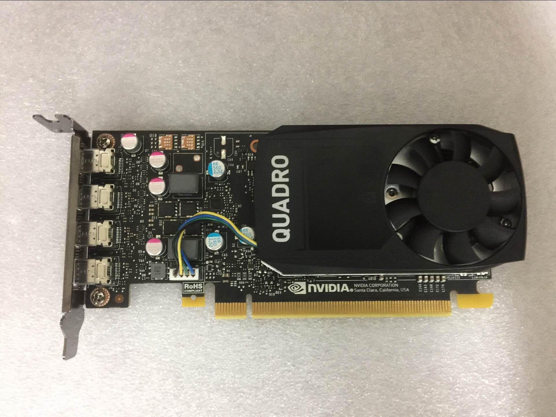 Quadro P600 2G Professional Graphics Card, Three-year Warranty