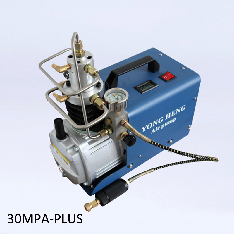 30MPA 300BAR 4500PSI High Pressure Electric Compressor Reciprocating Air Pump for Pneumatic Airgun Scuba Rifle PCP Inflator yongheng 300bar 30mpa 4500psi high pressure air pump electric air compressor for pneumatic airgun scuba rifle pcp inflator