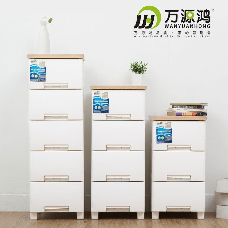 wanyuan accroche ikea de style europeen armoires de rangement en plastique fichier de tiroir de table de chevet casiers du cabinet petite section
