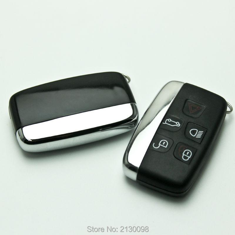 Prix pour Smart Key Shell Pour Land Rover Ranger Rover Key Case Découverte 4 Freelander Clé Shell Avec Logo Replacemet Livraison Gratuite