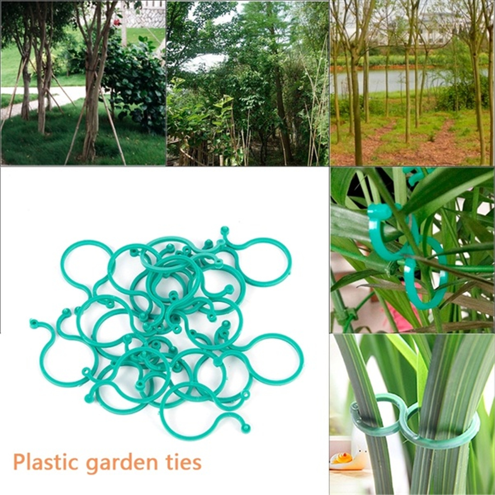 Garden-Clips Trellis 50pcs-Plant-Support Tomato-To-Grow Vine For Vegetable Upright
