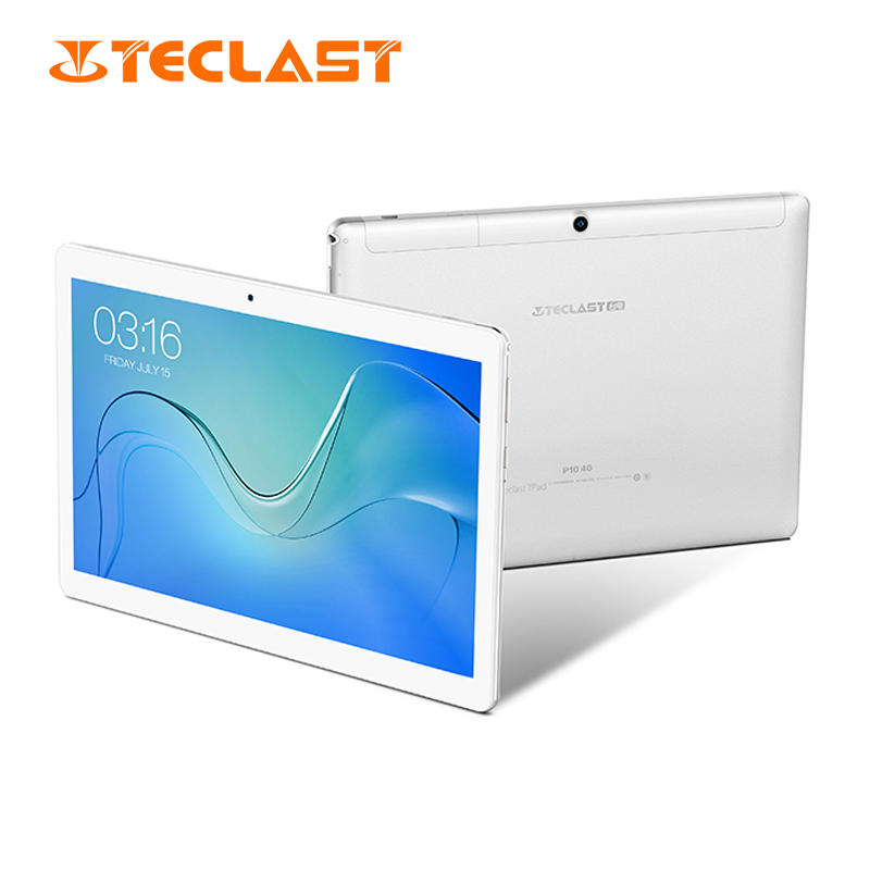Teclast P10 4G tablette tactile Android Phablet 10.1 pouces 1280*800 MTK6737 Quad Core 2GB RAM 16GB ROM appel téléphonique double caméra