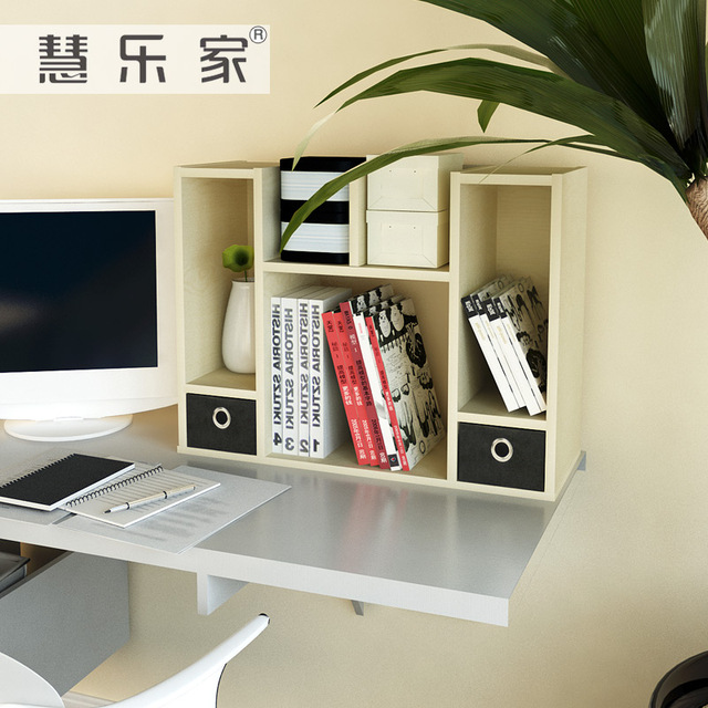 Hui Roca de escritorio cajón doble bastidores de almacenamiento de ...